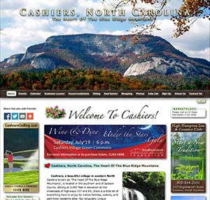 Cashiers North Carolina Website